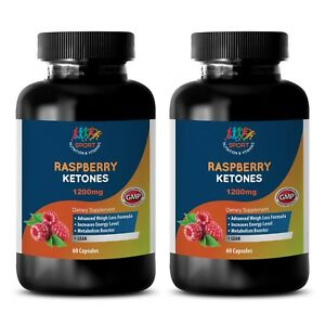 2 Bot 120 Ct Beautiful In Colour Raspberry Ketones Lean 1200mg Diet Pill Ingenious Coffee Bean Extract