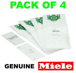 Véritable Miele Type U Aspirateur Poussière Sacs S7 Series-Pack de 4 avec filtres-afficher le titre d`origine dVgniHAq-07203551-548970248