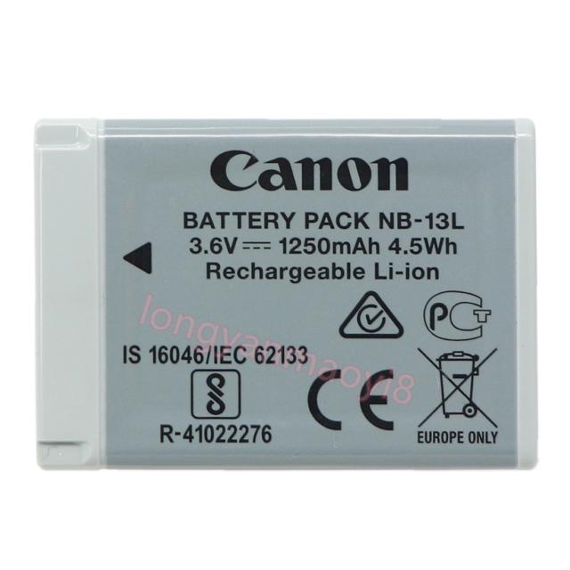 NB13L//NB-13L Batería para Canon PowerShot Power tiro G5X G9X G7X Mark II 2 Mark 2
