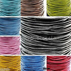 3/10/100Meter Real Leather Necklace Charms Rope String Cord 1.5/2.0 mm Any Color