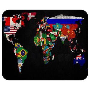 World-Flag-Map-Mousepad-Mouse-Pad-Mat