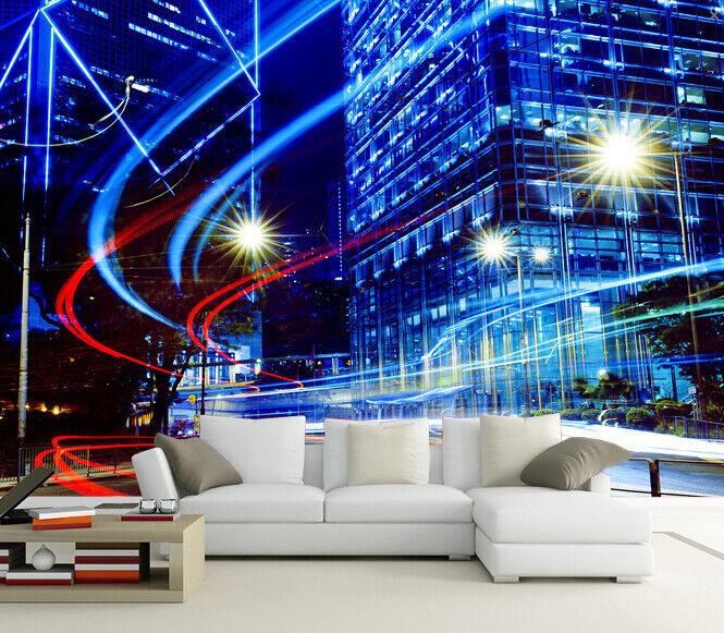 3D Helle Licht Stadt 83 Tapete Wandgemälde Tapete Tapeten Bild Familie DE Summer | Stil  | Ich kann es nicht ablegen  |