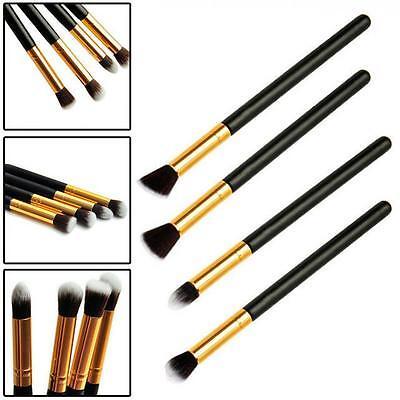 4pcs Professional Blending Eyeshadow Makeup Tool Foundation Brush Set