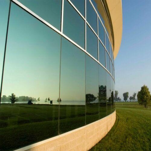 Pellicole silver adesive Controllo Solare specchio finestre da 152cm sped.gratis