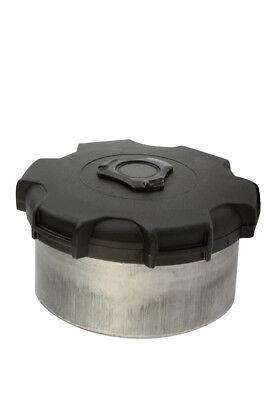 Weld On Large Aluminium Filler Neck with Locking Cap Truck Alloy Fuel Tank