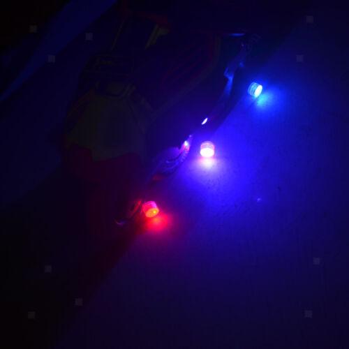 4 Pcs LED Flashing Lights for Roller Skate Skateboard Longboard Scooter