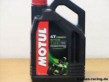 7,48€/l Motul 5100 4T 10W-40 4 Ltr teilsynthetisches 4 - Takt Motorradöl
