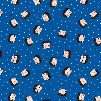 1 Yard Quilt Cotton Fabric Camelot Betty Boop Red White /& Boop Patriotic