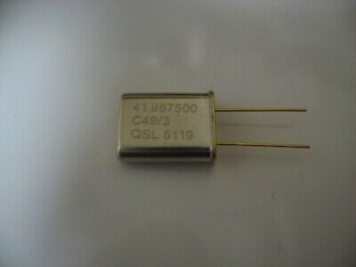 Tempo 1 42.0mHz 27.5-28.0mHz NEW 11 METER CRYSTAL YAESU  FT301 FT7B FT200 250