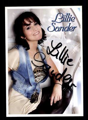 Treu Lillie Sander Autogrammkarte Original Signiert ## Bc 146998 Jade Weiß Autogramme & Autographen Musik