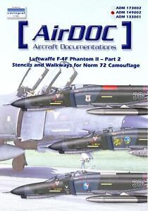 AirDoc-Decals-1-48-LUFTWAFFE-F-4F-PHANTOM-II-Norm-72-Camouflage-STENCILS