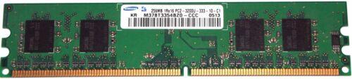256MB DDR2-RAM 1Rx16 PC2-3200U