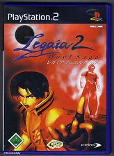 PS2 Legaia 2 Duel Saga (2002), UK Pal, 1st German Version with UK Game Disc