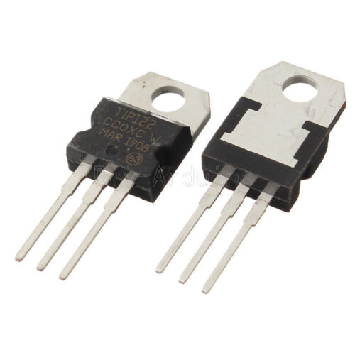 10Stks 100V 5A TIP122 TO-220 Transistor Complementary NPN NEW