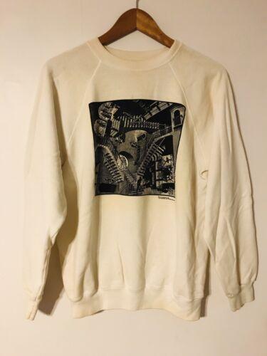 Vintage MC Escher 80's Sweatshirt Sweater Relativi
