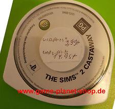 The Sims 2 Castaway / Gestrandet Sony PSP Sammlung