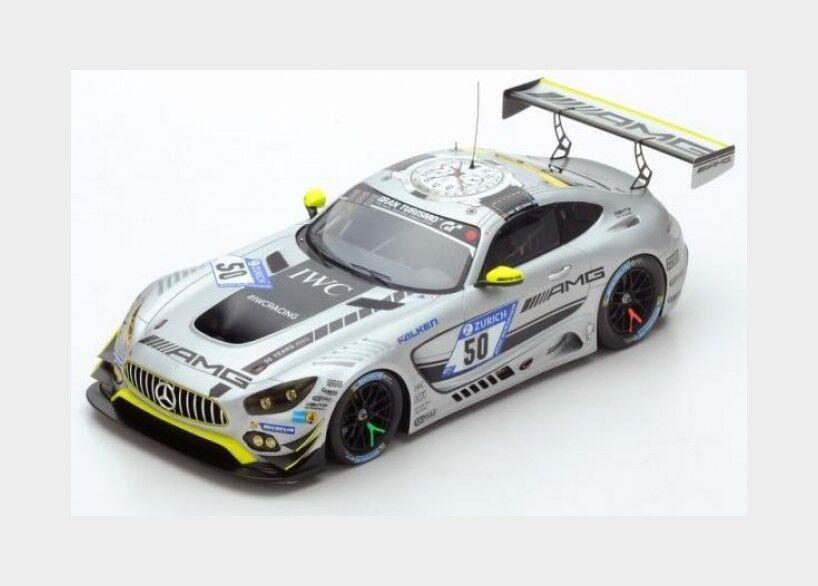 Mercedes Gt3 Amg Team Htp Motorsport  50 Nurburgring 2017 SPARK 1 18 18SG022