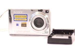 Sony-Cyber-shot-DSC-W200-12-1MP-Camara-Digital-Plata