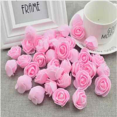 Blumen, Blüten & Girlanden Möbel & Wohnen Liberal 100st Hochzeit Deko Blumen Schaum Rosen Künstliche Blumen Rosenköpfe
