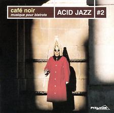 Various Artists, Cafe Noir: Acid Jazz V.2, New Import