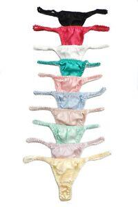 Silk String Panties