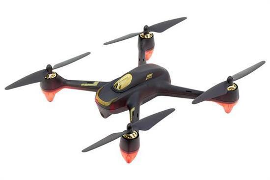 Hubsan x4 fpv brushless Quadrocopter NERO-RTF-Drone con fotocamera HD, GPS, fo