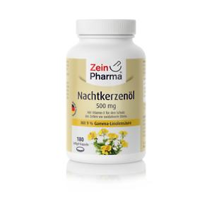 Nachtkerzenoel-500-mg-180-Kapseln-Gamma-Linolensaeure-Glycerin-RRR-alpha