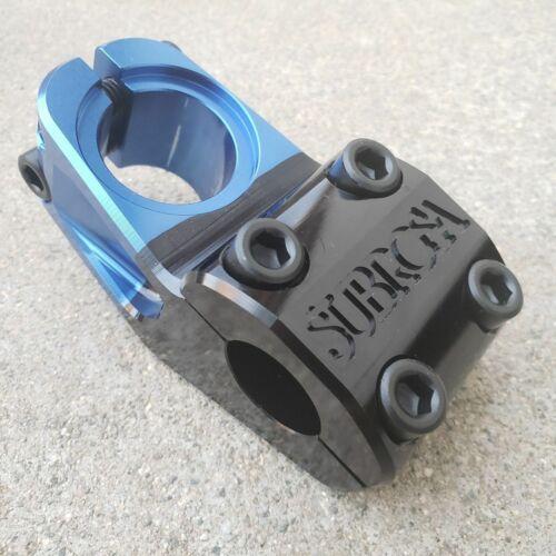 SUBROSA HIGH LIFE STEM UPLOAD STEM BLUE BLACK FADE BMX STEMS FIT SHADOW PRIMO