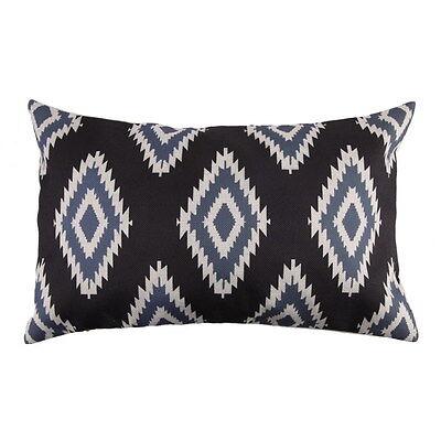 30x50 Housse de Coussin Géométrique Taie Oreiller Epais Créatif Sofa Canapé