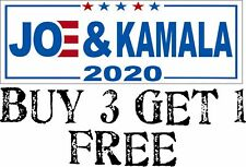 """Joe Biden Kamala Harris For President STICKER When Women Vote Women Win 8.7/""""x3/"""""""