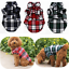 Summer-Lattice-Pet-Clothes-Small-Dog-Plaid-Shirts-Puppy-Clothing-Pets-Product-H thumbnail 1