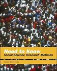 Need to Know: Social Science Research Methods by Lisa J. McIntyre (Paperback, 2004)