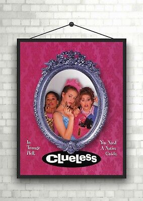Clueless Classic Large Movie Poster Print Maxi A1 A2 A3 A4