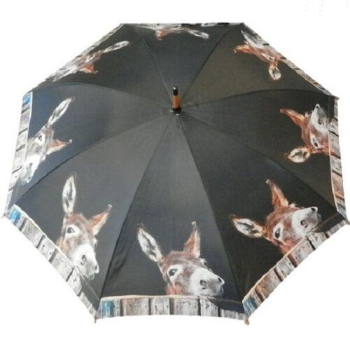 Ombrello ficcanaso Asino NUOVO DONKEY âne Ombrello Bastone ombrello