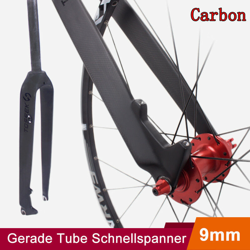 TOSEEK 26 27.5 29  1-1 8 Ahead Fahrrad  Carbon Starre Gerade Gabel Scheibenbremse  are doing discount activities