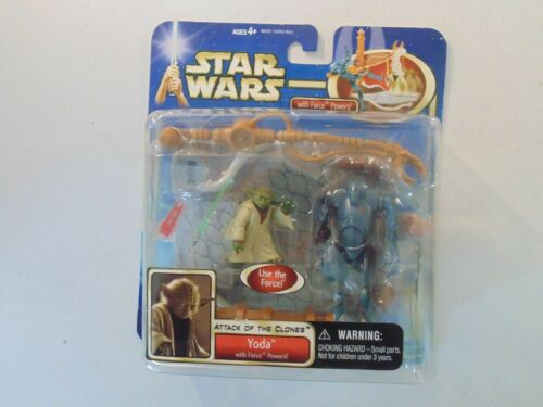 STAR WARS ATTACK OF THE CLONES menace fantôme Action Figures