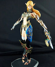 Elf ranger girl lineage II 2 arrow 1/6 unpainted statue figure model resin kit