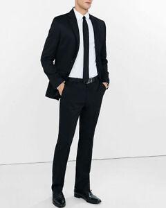 marca Producer Pantalone motivo lana con in classico Twill New di lungo nero York pantalone misto S6nxSArCqw