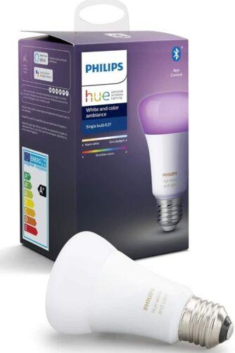 Philips Hue White /& Col E27 Einzelpack 806lm Bluetooth im geöffneter OVP Amb