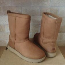 24423c98555 UGG Cecile Chestnut Leather Sheepskin Waterproof Duck BOOTS US 11 ...