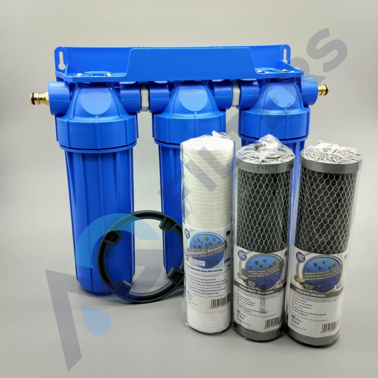 3 Fasi HMA ad alto flusso dell'acqua Filtro stagno di Koi dechlorinator rimozione di cloro