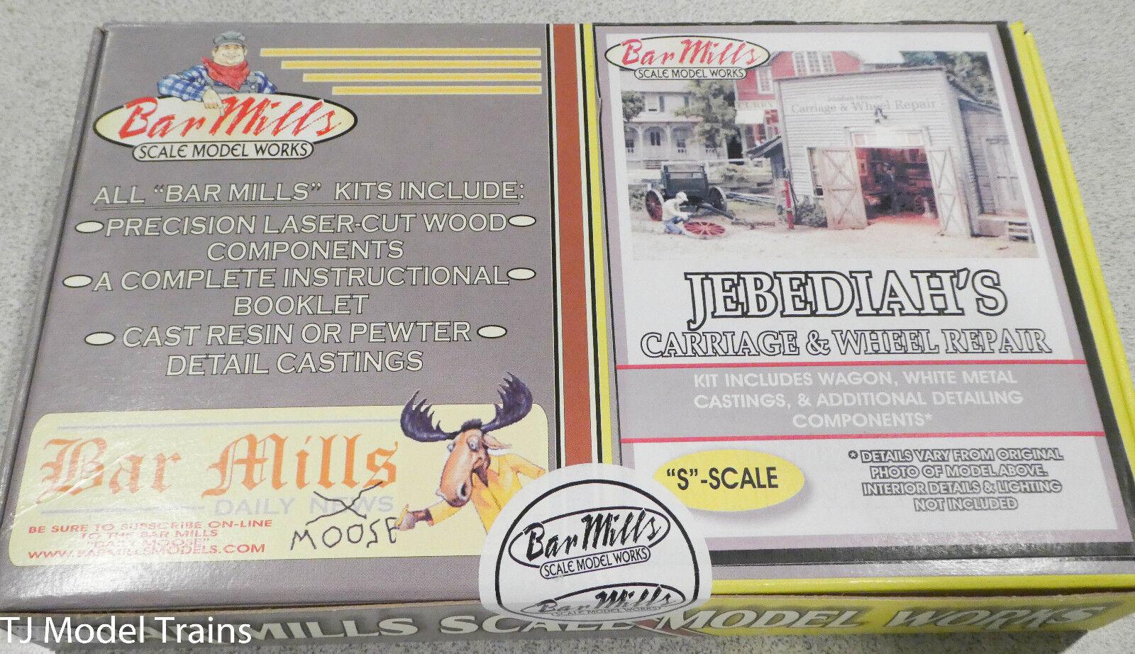 buena calidad Bar Mills S  113 Jebediah's Cochero Cochero Cochero reparación -- Kit  Entrega directa y rápida de fábrica