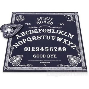 BLACK-amp-WHITE-SPIRIT-OUIJA-BOARD-WICCA-PAGAN-GOTHIC-OCCULT-PAGAN-MAGIC-HALLOWEEN