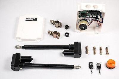 Set f/ür 1-Fl/ügeltorantrieb Torantrieb Fl/ügeltor Drehtorantrieb mit Steuerung