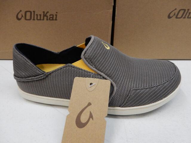db41d91841a3 OluKai Mens Nohea Mesh Slip on Shoe 12 M Rock canoe for sale online ...