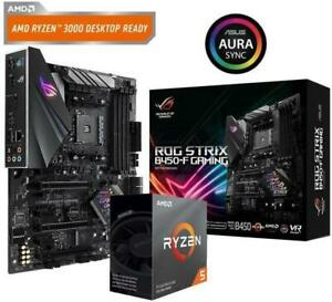 ASUS-ROG-STRIX-B450-F-GAMING-Motherboard-Ryzen-3600-CPU-Bundle-AMD-Socket-AM4