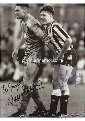Vinnie Jones Gazza Grabs Sports Football Photo Picture Print on Framed Canvas