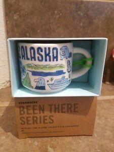 New Starbucks ALASKA 2oz Been There Series Coffee Mini Mug Ornament pick 1 / 2