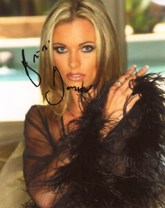 BRIANA BANKS SIGNED AUTOGRAPHED 8x10 PHOTO XXX PORN LEGEND RETIRED BECKETT BAS