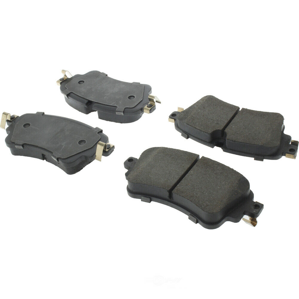 Disc Brake Pad Set-Premium Ceramic Pads with Shims Rear Centric 301.18980
